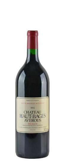 1992 Haut Bages Averous Bordeaux Blend