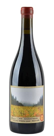 2010 Red Car Heaven and Earth  La Boheme  Pinot Noir