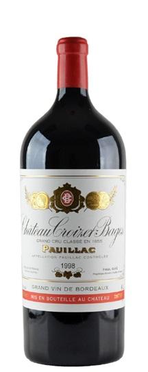 1998 Croizet Bages Bordeaux Blend