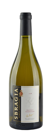2008 Sbragia Family Vineyards Chardonnay Home Ranch