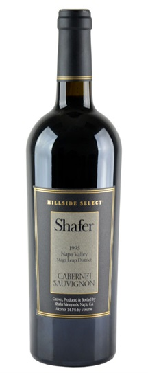 1998 Shafer Vineyards Cabernet Sauvignon Hillside Select