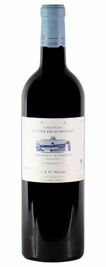 2011 Pin Beausoleil, Le Bordeaux Blend