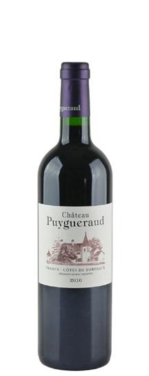 2010 Puygueraud Bordeaux Blend