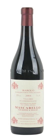 2004 Mascarello, Giuseppe Barolo Villero