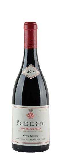2003 Comte Armand Pommard Clos des Epeneaux