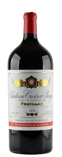 1978 Croizet Bages Bordeaux Blend