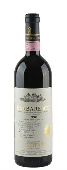 2001 Bruno Giacosa Barbaresco Asili