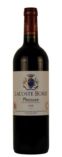2011 Lacoste-Borie Bordeaux Blend
