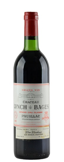 2002 Lynch Bages Bordeaux Blend