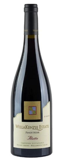 2009 Willakenzie Estate Pinot Noir Aliette