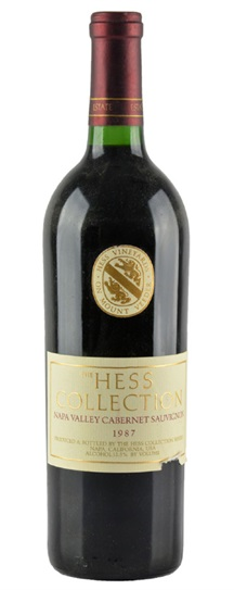 2006 Hess Collection Cabernet Sauvignon
