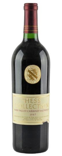 1987 Hess Collection Cabernet Sauvignon