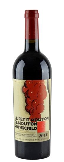 2000 Le Petit Mouton Bordeaux Blend