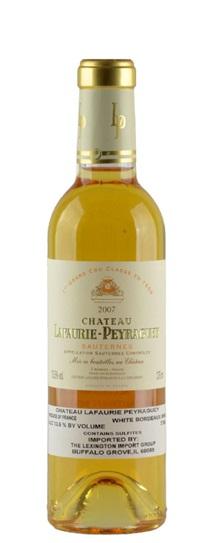 2007 Lafaurie-Peyraguey Sauternes Blend