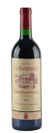1989 Dominique, La Bordeaux Blend