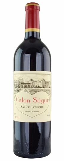2011 Calon Segur Bordeaux Blend
