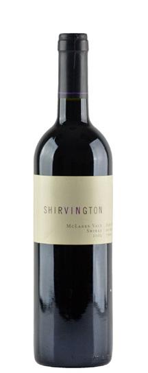 2001 Shirvington Shiraz