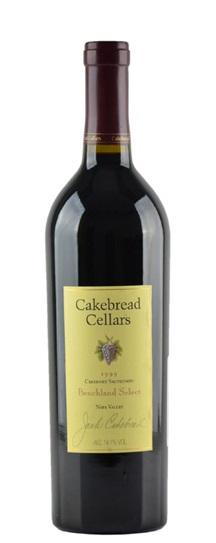 2001 Cakebread Cellars Cabernet Sauvignon Benchland Select