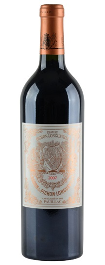 2007 Pichon-Longueville Baron Bordeaux Blend