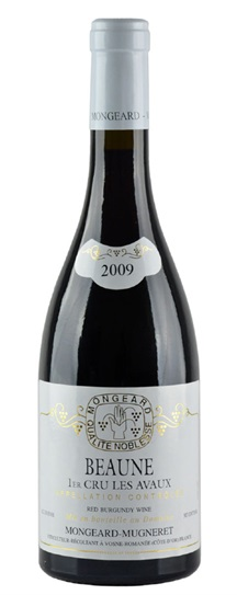 2009 Mongeard-Mugneret, Domaine Beaune Avaux 1er Cru