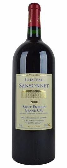 2002 Sansonnet Bordeaux Blend