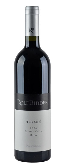 2006 Binder Wines, Rolf Shiraz Heysen