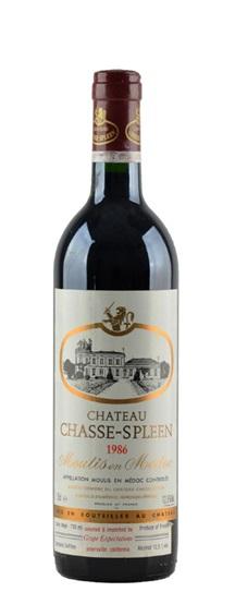 1986 Chasse-Spleen Bordeaux Blend