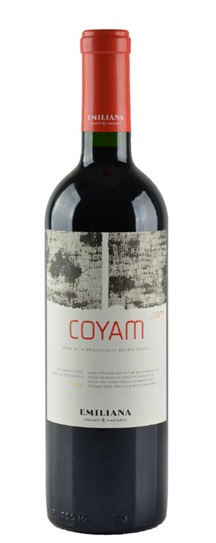 2009 Emiliana Coyam Proprietary Blend