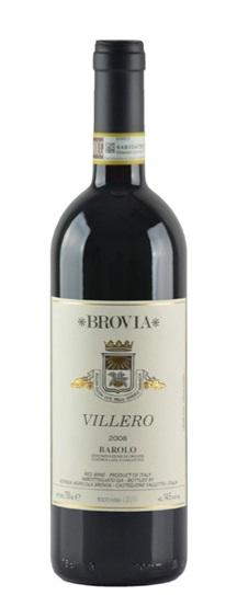 2008 F Ili Brovia Barolo Villero