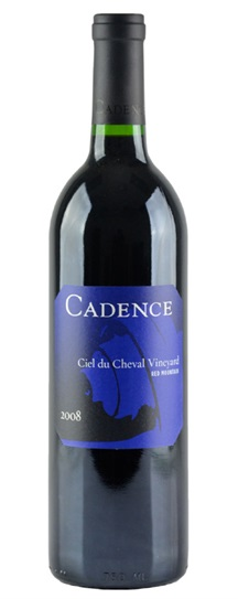 2008 Cadence Ciel du Cheval Vineyard