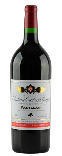 1967 Croizet Bages Bordeaux Blend