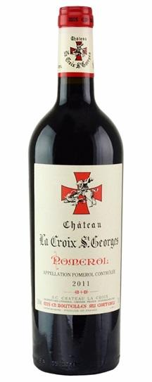 2011 Croix St Georges, La Bordeaux Blend