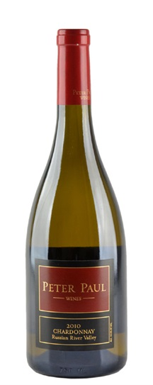 2010 Peter Paul Chardonnay  Russian River Valey