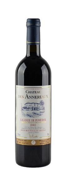 2001 Des Annereaux Bordeaux Blend