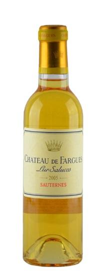 2005 Chateau de Fargues Sauternes Blend