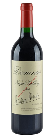 1992 Dominus Proprietary Red Wine