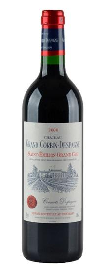 2000 Grand-Corbin-Despagne Bordeaux Blend