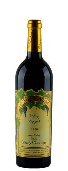 1998 Nickel & Nickel Cabernet Sauvignon Stelling Vineyard
