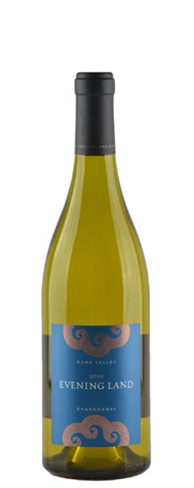 2010 The Evening Land Vineyards Chardonnay Blue Label Edna Valley