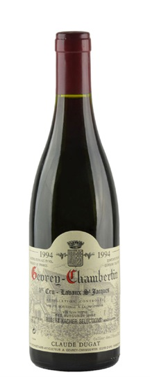 1994 Domaine Claude Dugat Gevrey Chambertin Lavaux St Jacques