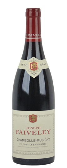 2011 Faiveley Chambolle Musigny Les Charmes