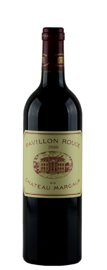2010 Margaux, Pavillon Rouge du Chateau Bordeaux Blend