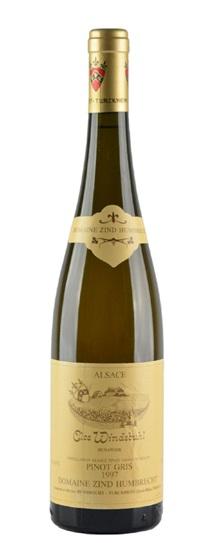 2000 Zind Humbrecht, Domaine Pinot Gris Clos Windsbuhl
