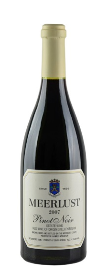 2007 Meerlust Pinot Noir