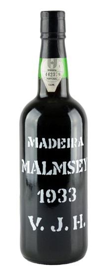 1933 Justino Henriques Malmsey Madeira