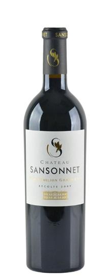2010 Sansonnet Bordeaux Blend
