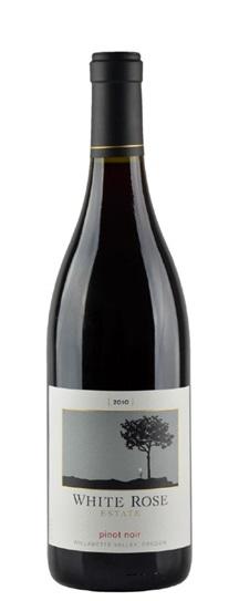 2010 White Rose Pinot Noir Estate Willamette Valley