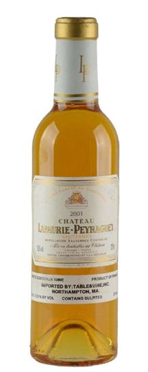 2001 Lafaurie-Peyraguey Sauternes Blend