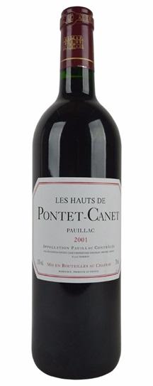 2001 Pontet-Canet, Hauts de Bordeaux Blend