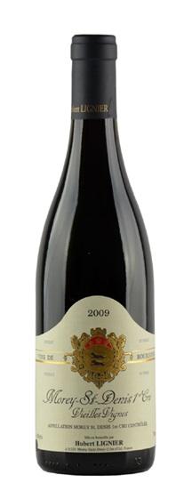 2009 Domaine Hubert Lignier Morey St Denis Vieilles Vignes